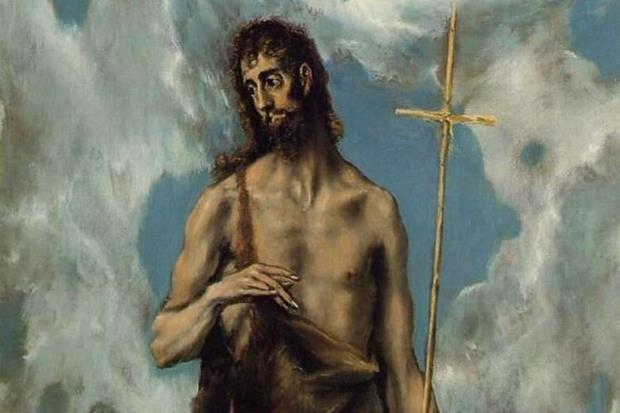 'San Giovanni Battista' di El Greco