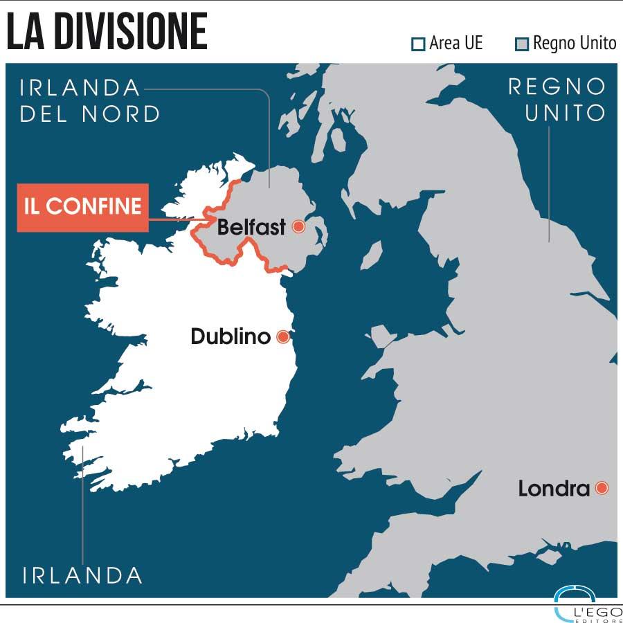 Cartina Politica Dell Irlanda.Irlanda Il Muro Della Brexit A Rischio Il Processo Di Pace