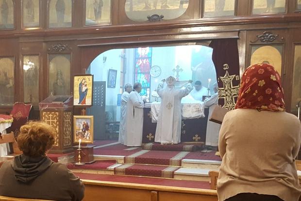 Cristiani copti in Egitto (foto Gambassi)
