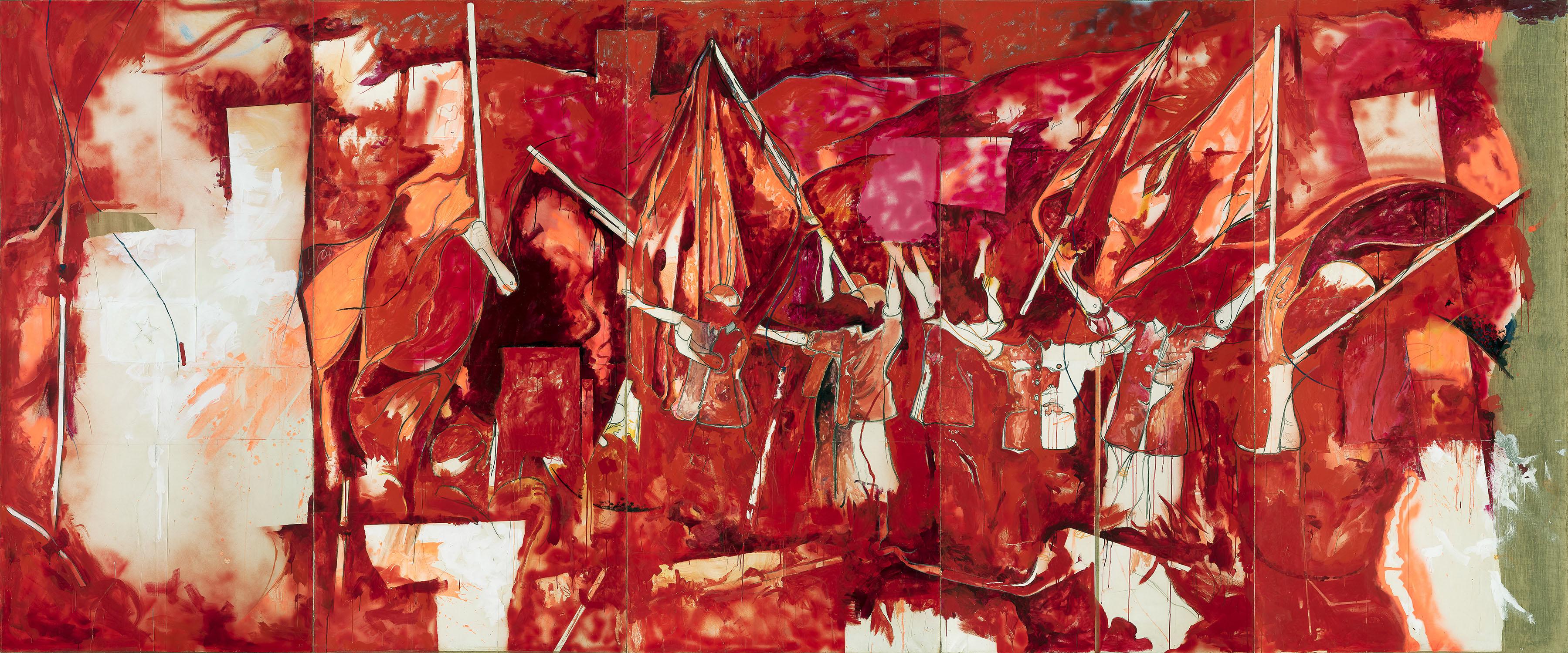 Mario Schifano, 'Festa cinese', 1968