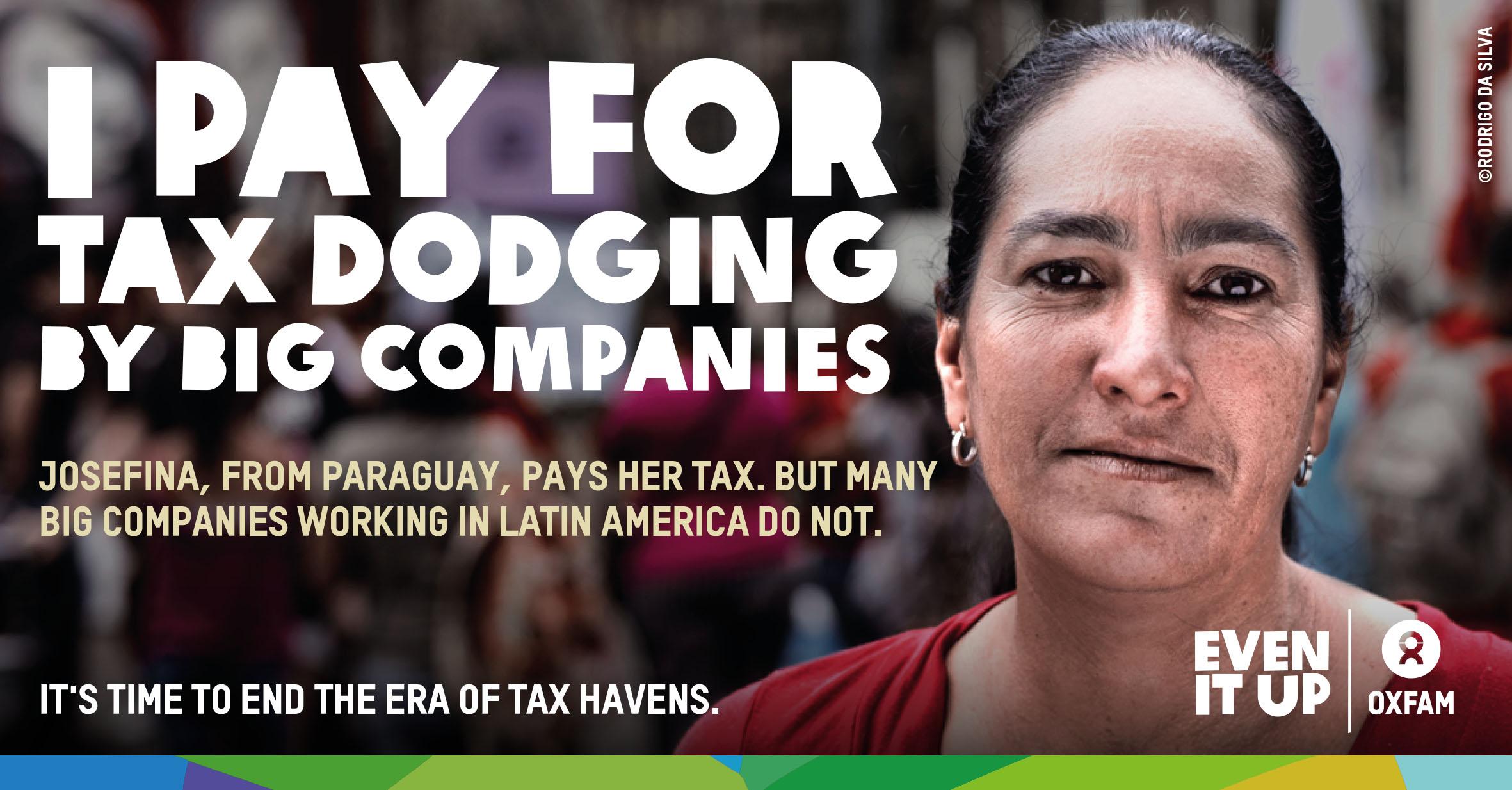 La campagna della ong Oxfam contro i paradisi fiscali