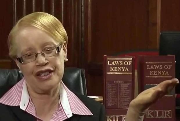 Grace Mumbi Ngugi, una dei 150 giudici dell'Alta Corte in Kenya