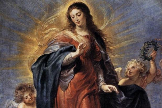 L'Immacolata Concezione, celebre dipinto di Rubens