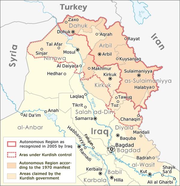 Cartina Kurdistan.Perche L Indipendenza Del Kurdistan Resta Impossibile