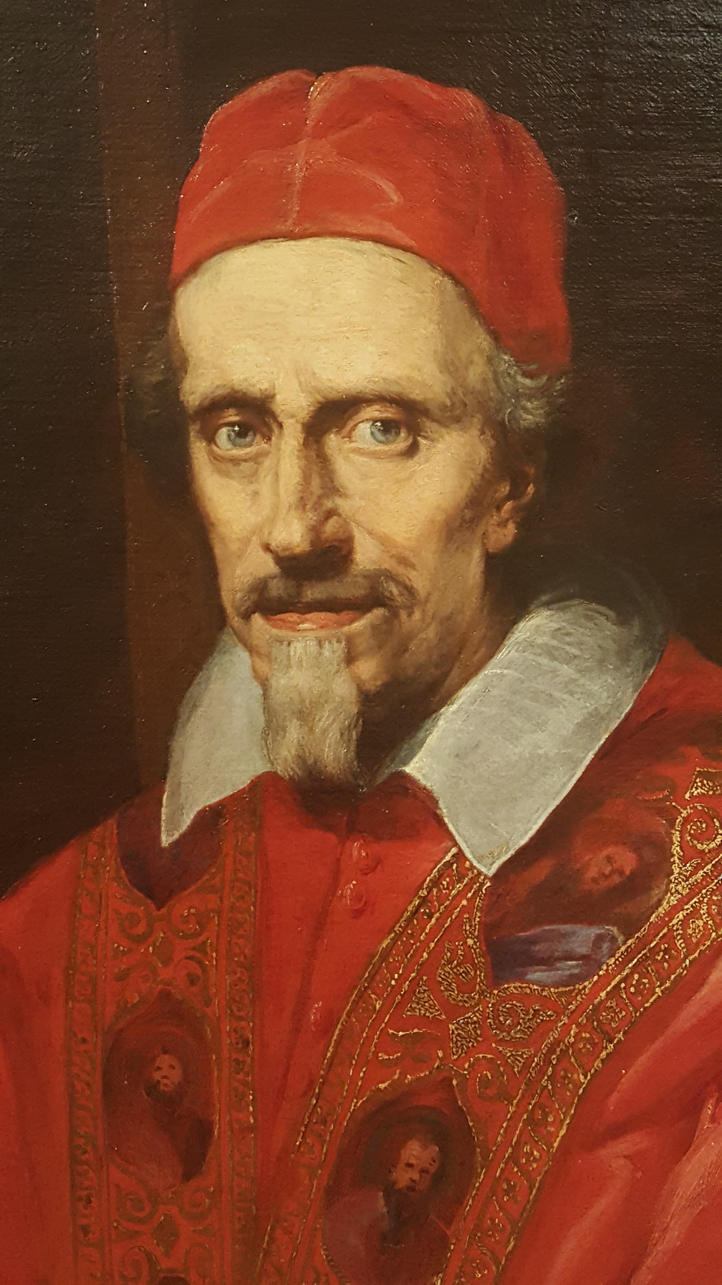 Gian Lorenzo Bernini, 'Ritratto di Clemente IX'. Collezione privata