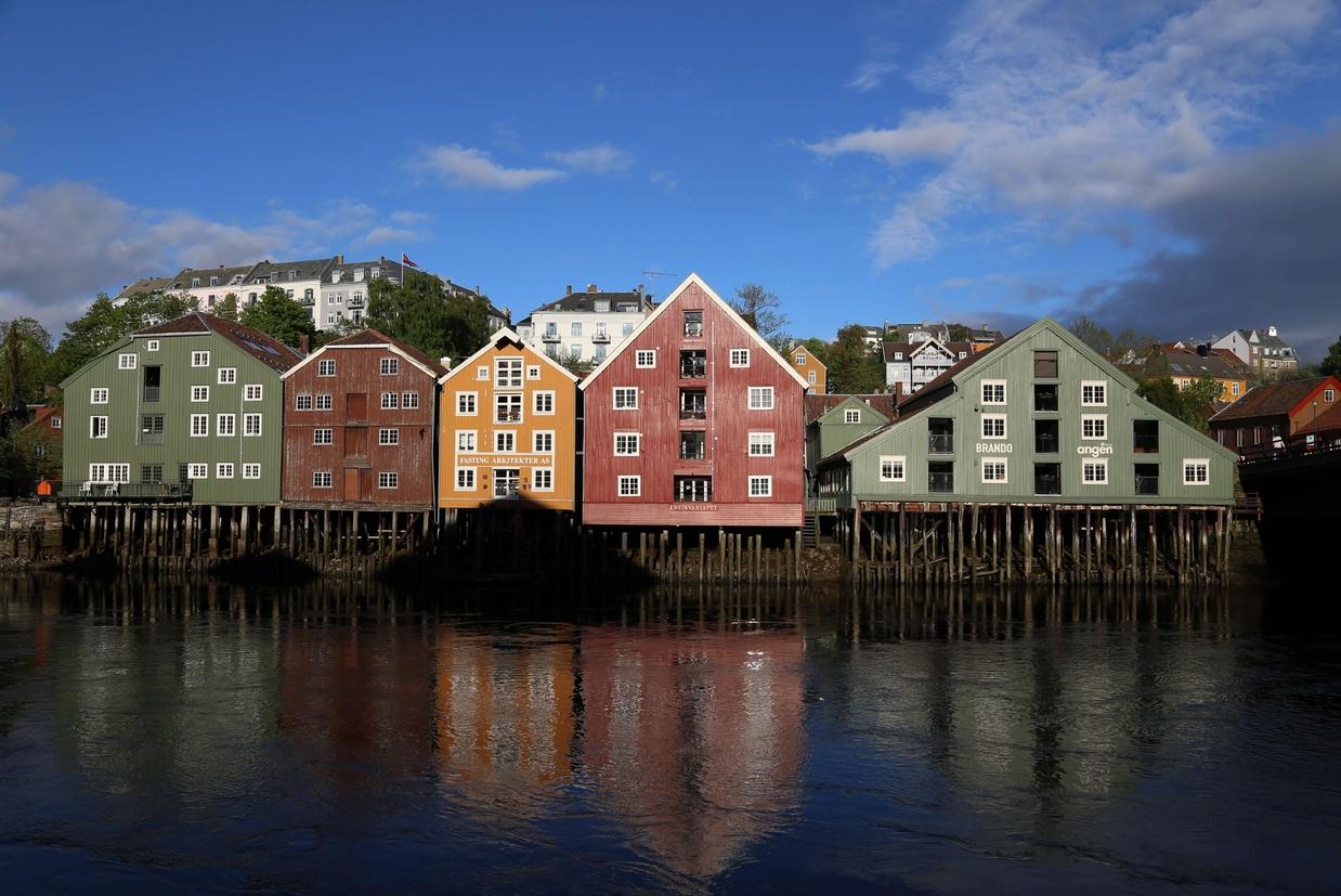 La cittadina di Trondheim (©Piergiorgio Pescali)