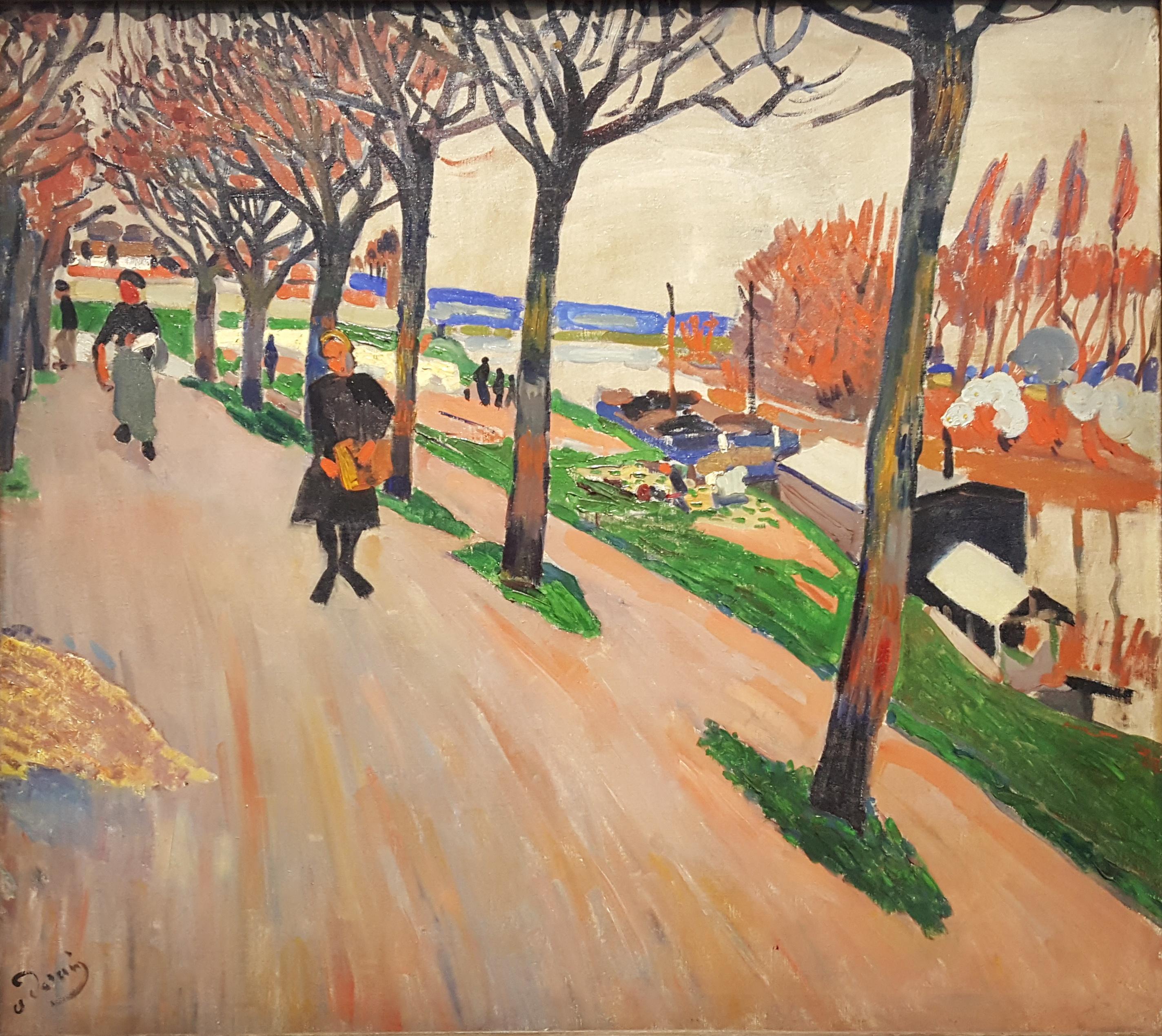 André Derain, 'Le Seine au Pecq' (1904)