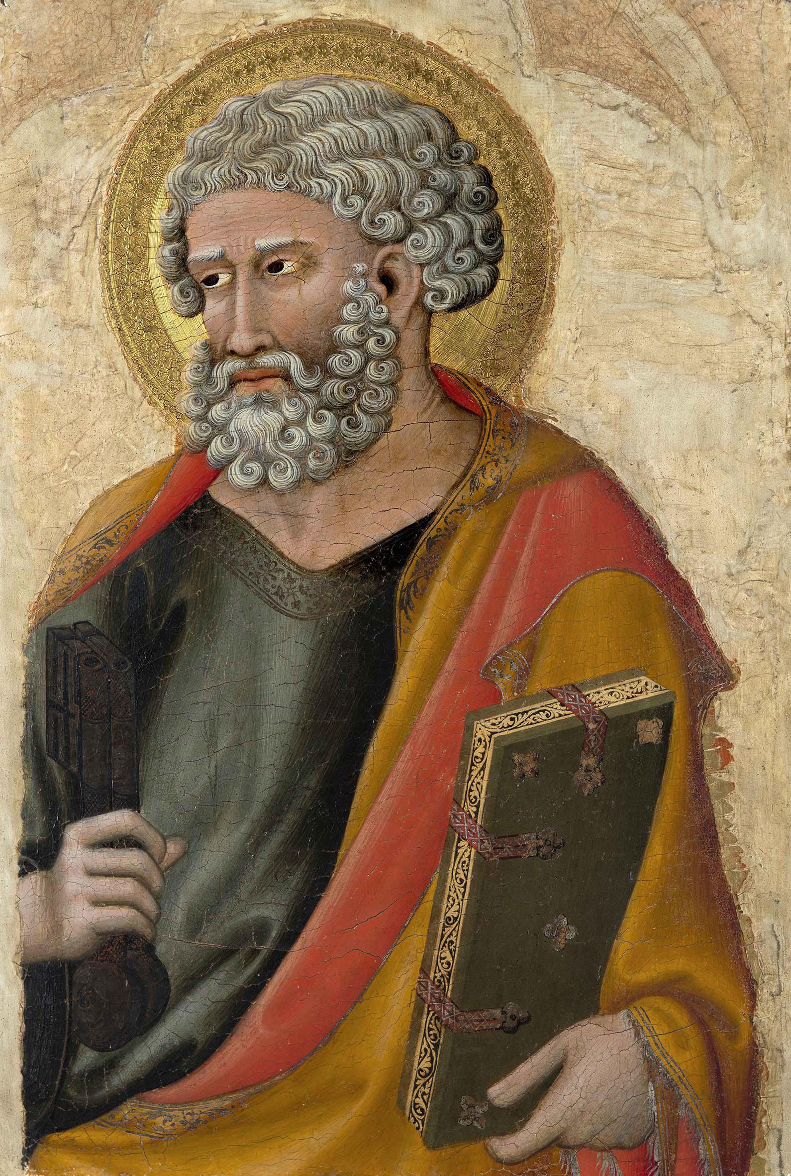 Francesco di Traino, 'San Pietro' (1325-1330), tempera e oro su tavola. Pisa, Museo Nazionale di San Matteo