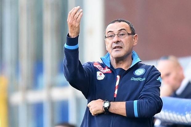 L'uomo in tuta, il tecnico del napoli, Maurizio Sarri