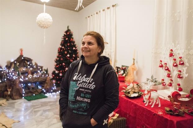 Raacine, Libano. Giselle nella sua casa di montagna a circa 30km da Beirut. (foto Arianna Pagani)