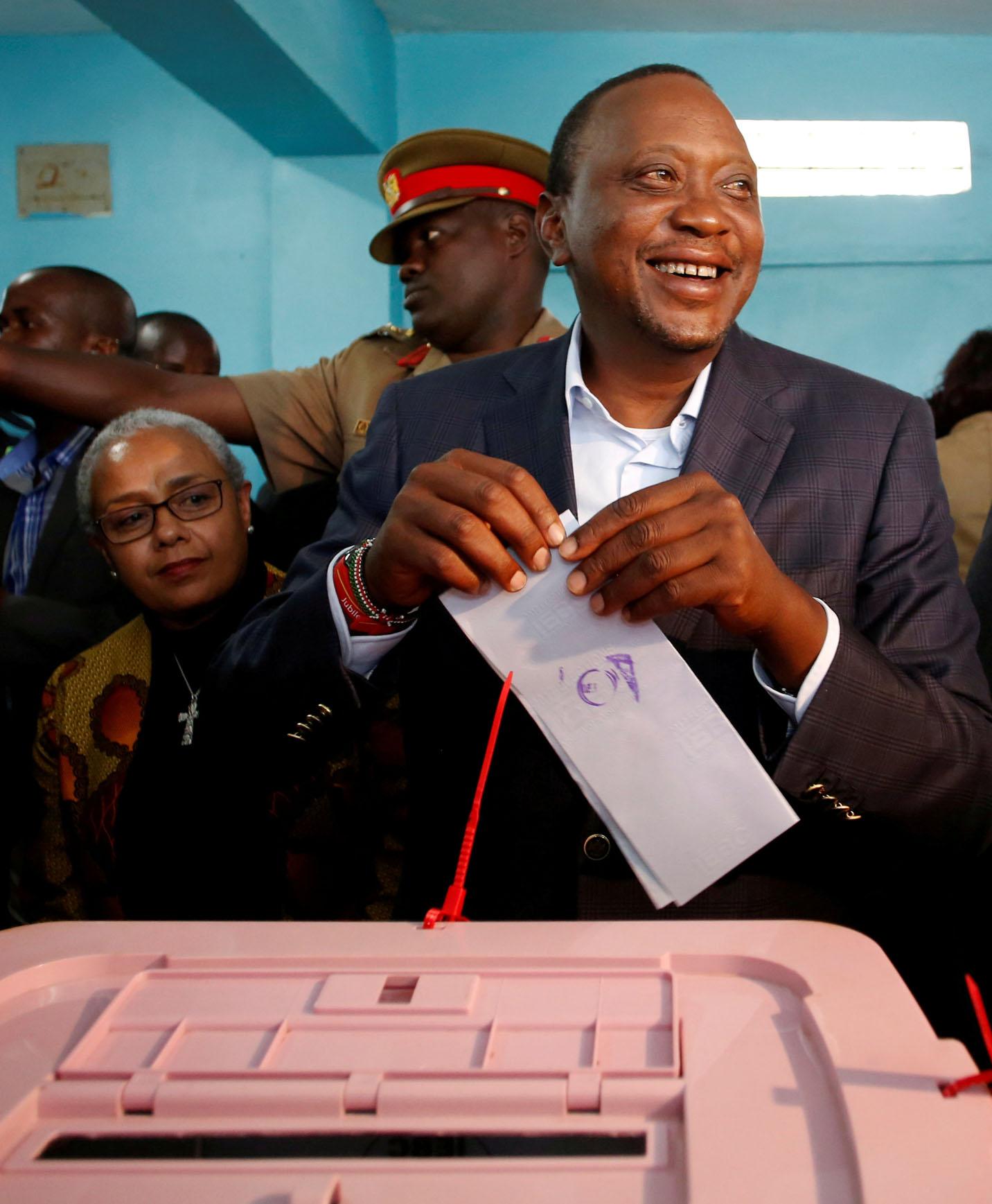 Nelle elezioni presidenziali dello scorso 8 agosto, oggi invalidate dalla Corte suprema del Kenya, si era imposto il presidente uscente Uhuru Kenyatta