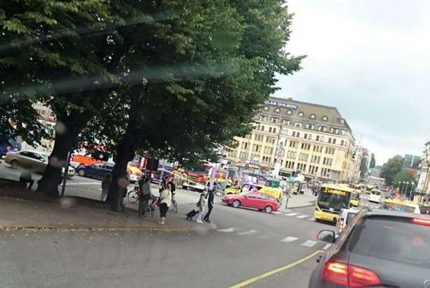 Il luogo dell'attacco a Turku, in Finlandia (Ansa'Lehtikuva)