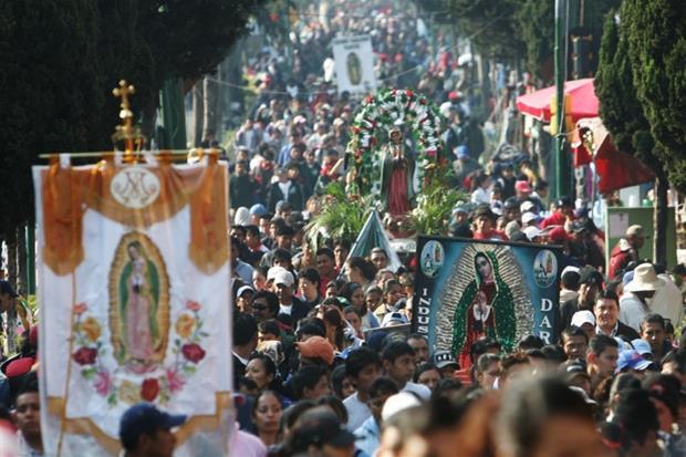 Un pellegrinaggio alla Madonna di Guadalupe