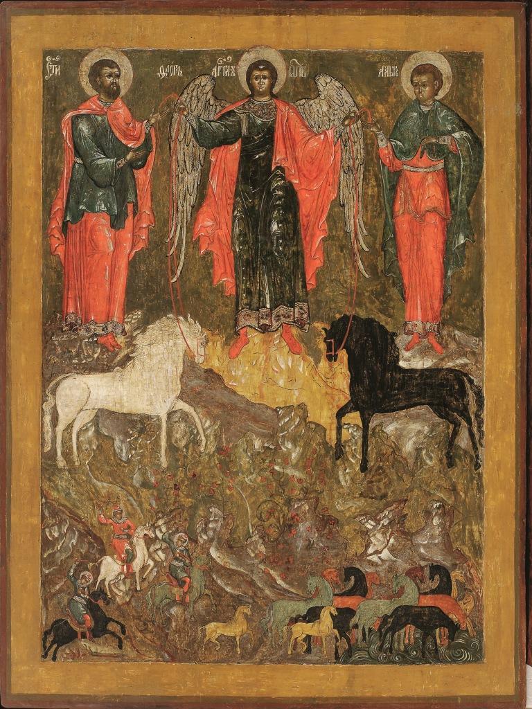 'Il miracolo dell'Arcangelo Michele a Floro e Lauro' (ultimo quarto del XVII secolo)