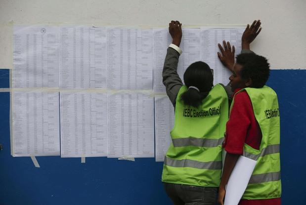 Tensión en Kenia por votación en bastiones de la oposición