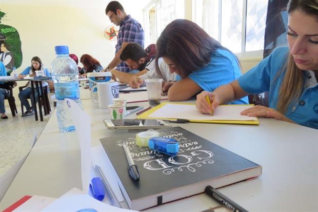 Il corso tutori di resilienza svoltosi la scorsa estate a Rmeyleh presso il collegio dei maristi (Le foto sono dell'associazione Francesco Realmonte)