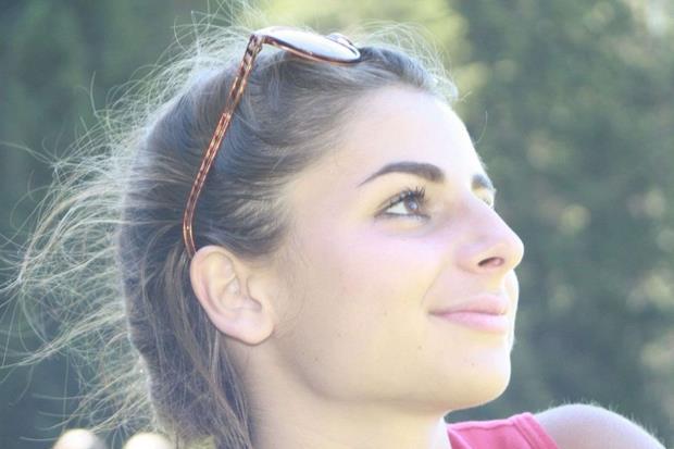 """Cecilia Nardini, 18 anni, studentessa della quinta A al """"Pilo Albertelli"""" di Roma"""