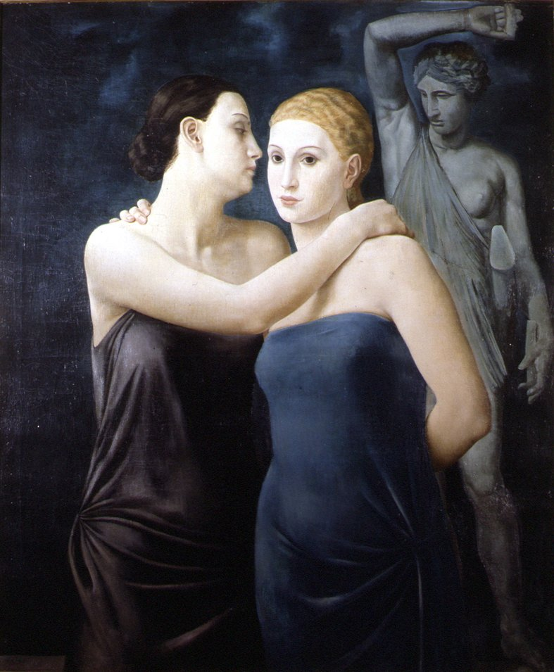 "Ubaldo Oppi, ""Le due amiche"" (1924)"