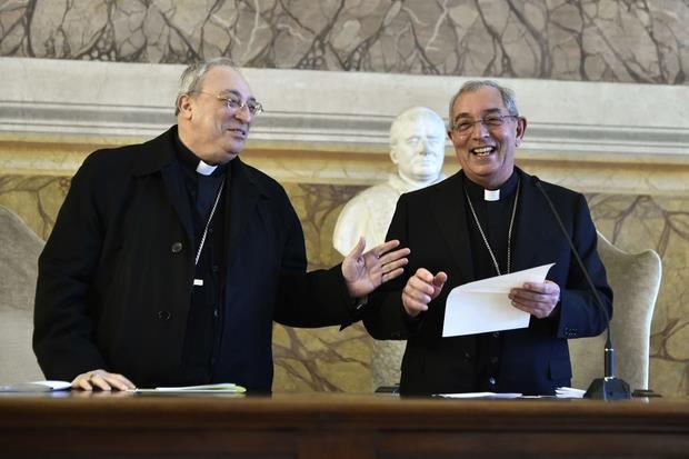 Il vicario generale di Roma, De Donatis e Marciante (Siciliani)