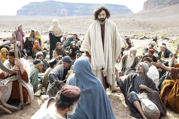 L'attore inglese Selva Rasalingam interpreta Gesù