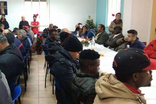 La mensa della Caritas di Lamezia