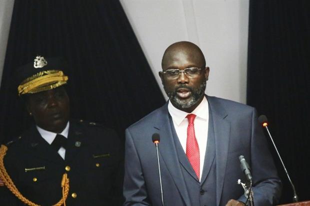 George Weah, dal Milan alla presidenza della Repubblica in Liberia (Ansa)
