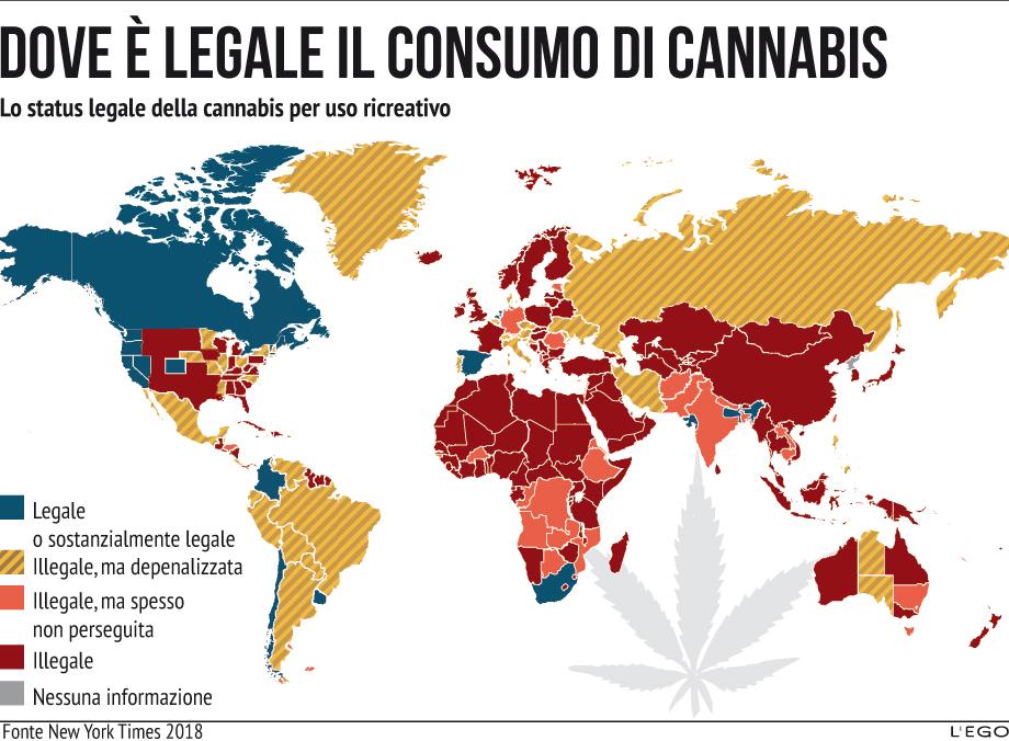 Il nuovo business mondiale della marijuana