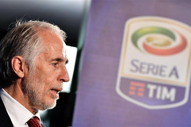 Giovanni Malagò, presidente del Coni e commissario della Lega Serie A (foto Ansa)