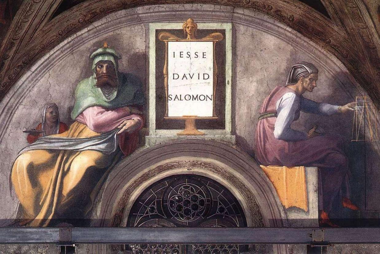 'Gli Antenati di Cristo' di Michelangelo nella Cappella Sistina