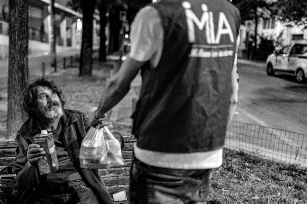 Milano, una fotogafia di Marco Mignano per il progetto «L'anima di Fabrizio»