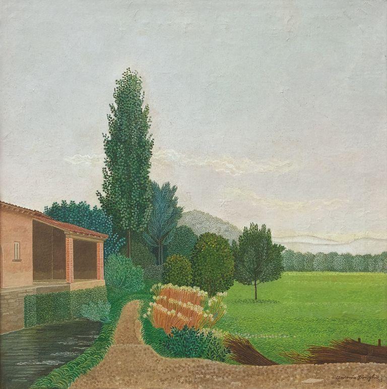 Antonio Donghi, 'Paesaggio'