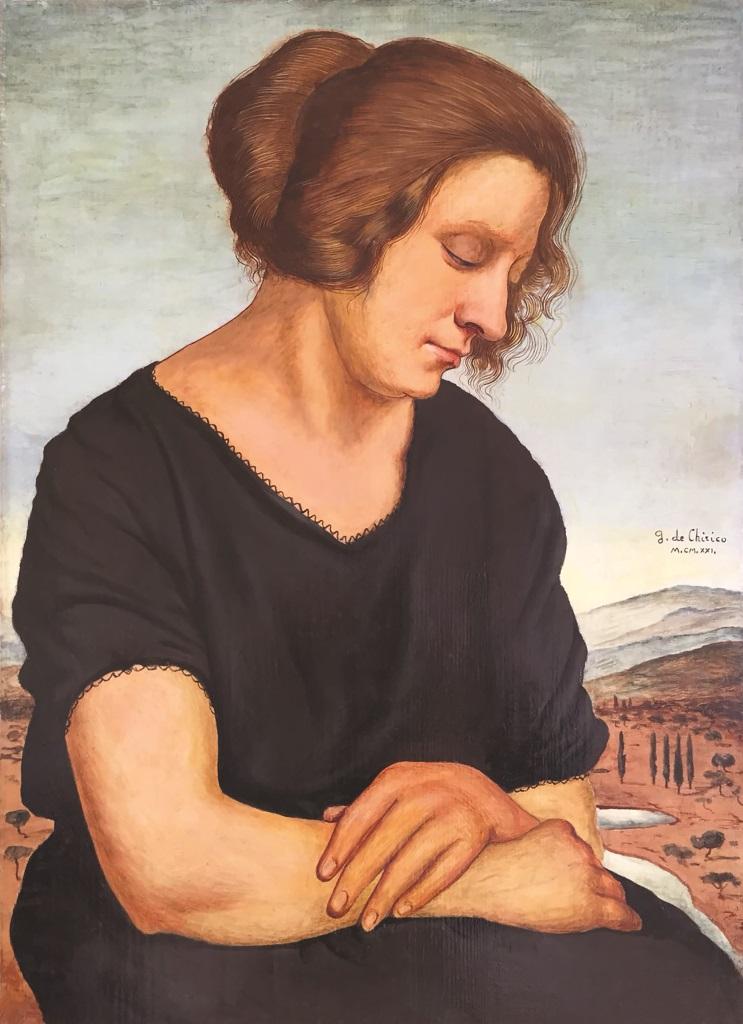 Giorgio de Chirico, 'Ritratto di signora'