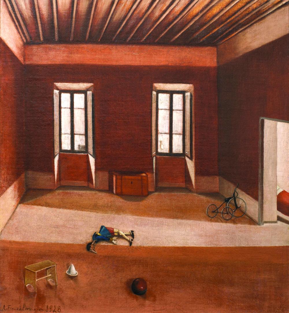 Riccardo Francalancia, 'Interno melanconico'