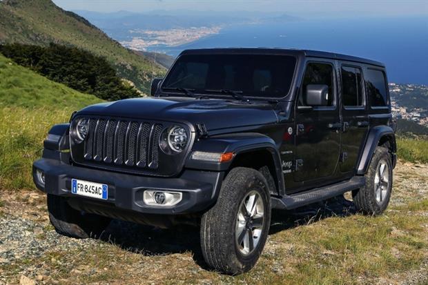 La nuova Jeep Wrangler in versione Sahara