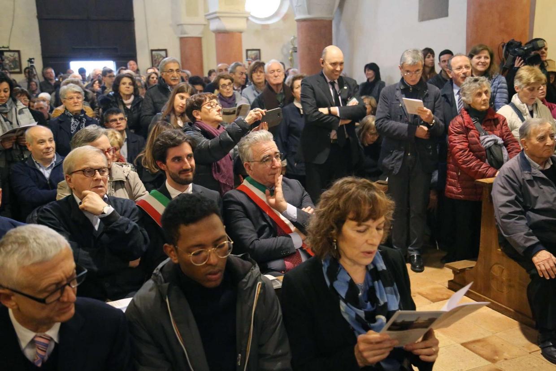 La Pieve di Castellarano domenica era gremita per la celebrazione per il 73° anniversario del martirio del beato Rolando Rivi