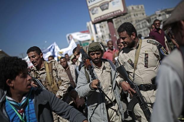 Ribelli Huthi in Yemen (AP)