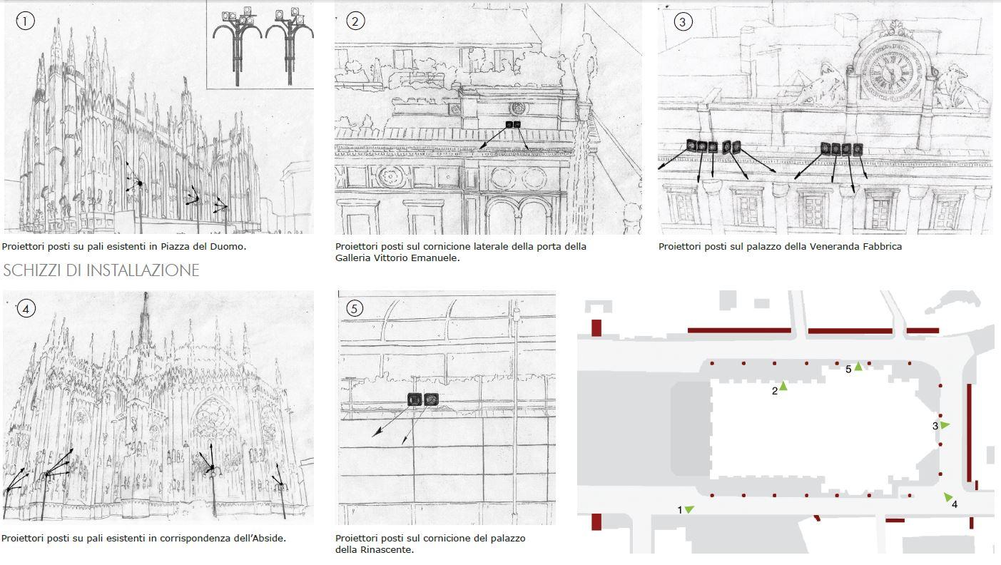 Alcuni disegni dal progetto