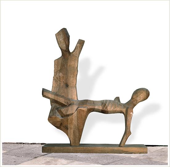 Tito Amodei, 'Deposizione', 1965, conservata ai Musei Vaticani (titoamodei.org)