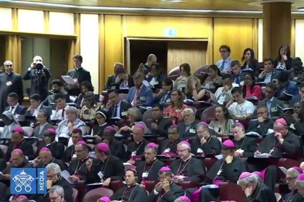 Alcuni partecipanti al sinodo