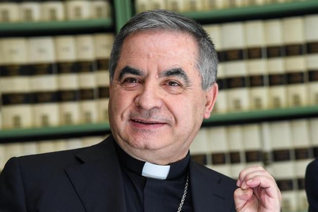 Il cardinale Angelo Becciu