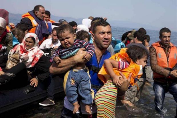 Salam Aldeen a processo in Grecia per aver soccorso migliaia di migranti sull'isola di Lesvos. (Facebook)