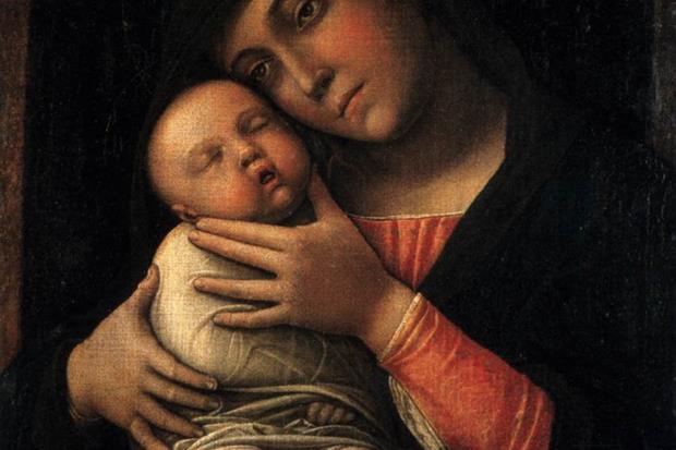 La Madonna con Bambino addormentato di Andrea Mantegna