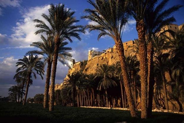 Gabal al-Tair, nel sud dell'Egitto, dove si è fermata la Famiglia di Nazaret