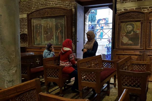 La chiesa di San Sergio nel Vecchio Cairo (foto Gambassi)