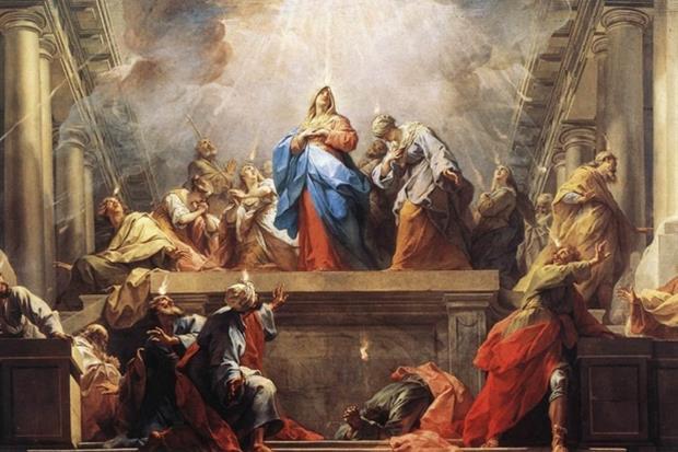 Jean ii Restout, 'La Pentecoste'