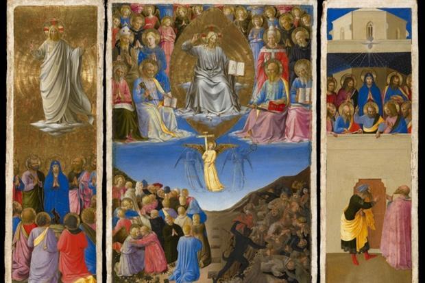 'Il trittico' del Beato Angelico