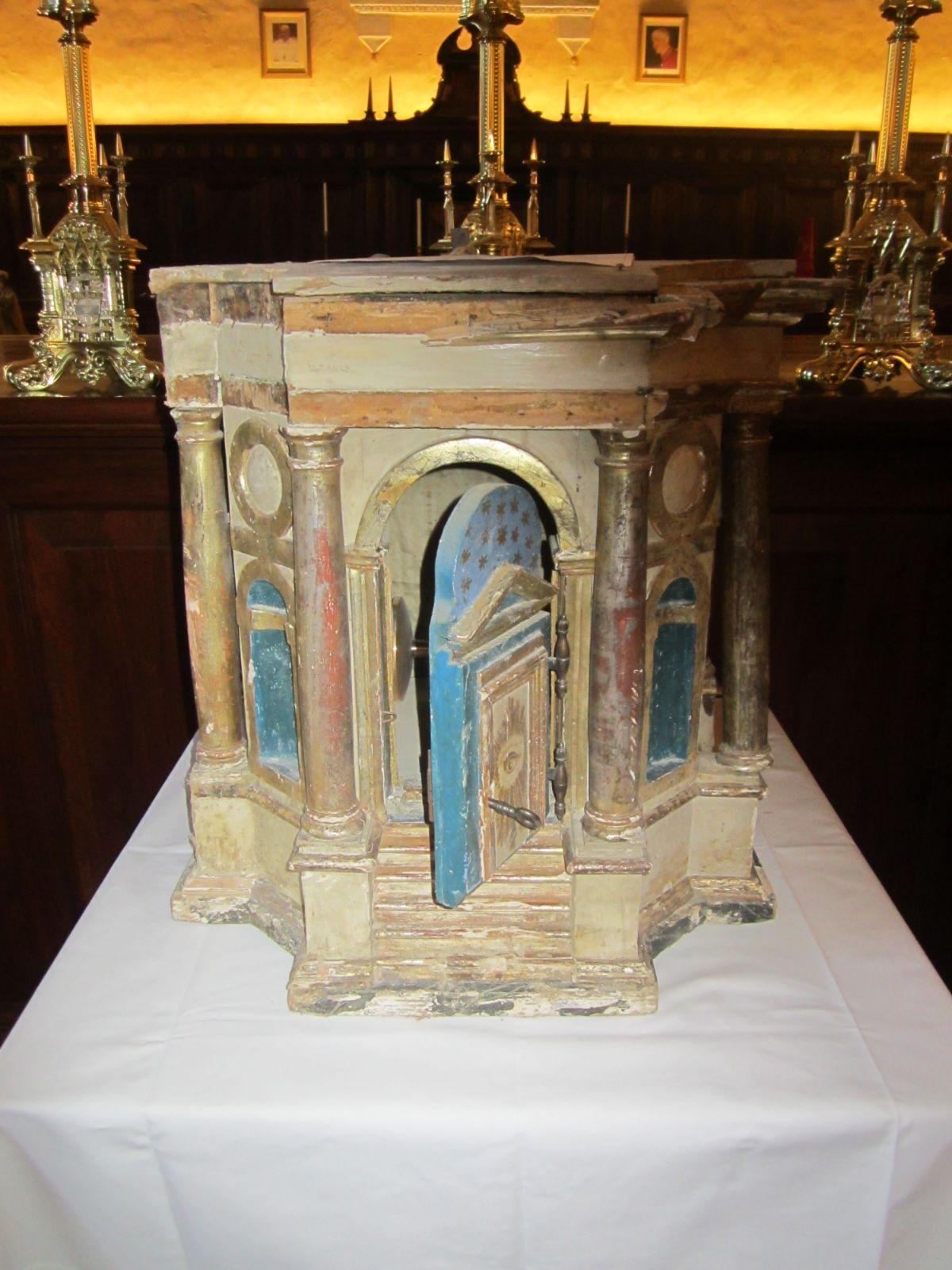 Il tabernacolo ritrovato