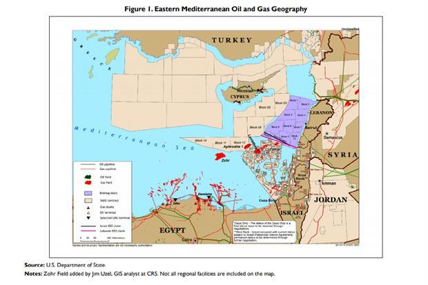 I giacimenti di gas naturale scoperti nell'area del Mediterraneo Occidentale e i blocchi delle esplorazioni