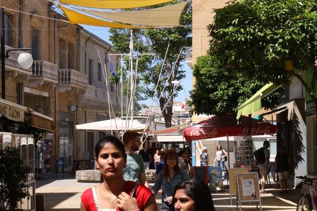 Ledra Street, la via commerciale più importante di Nicosia
