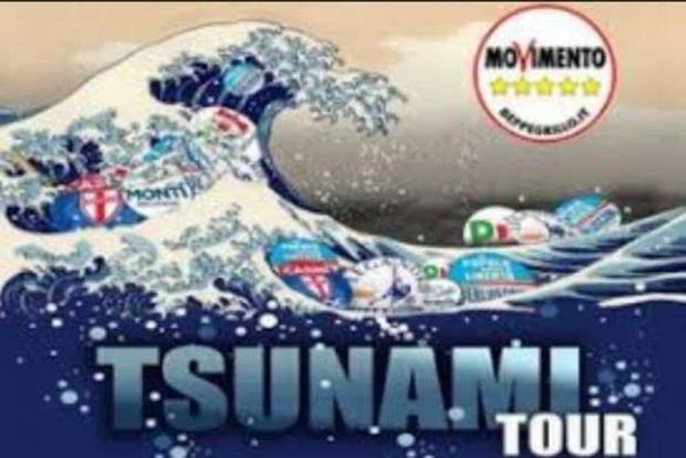Un'immagine del Tsunami Tour del 2013